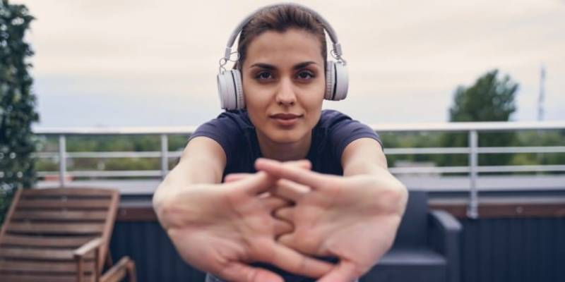 Working Out With Over the Ear Headphones